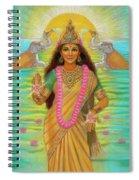 Goddess Lakshmi Spiral Notebook