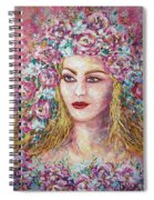 Goddess Of Good Fortune Spiral Notebook