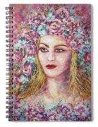 Goddess Of Good Fortune Spiral Notebook