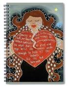 Goddess Of Grief Spiral Notebook