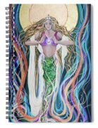 Goddess Of Intention Spiral Notebook