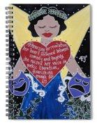 Goddess Of The Arts Spiral Notebook
