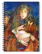 Goddess Ostara Spiral Notebook