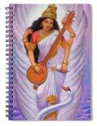 Goddess Saraswati Spiral Notebook