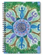 Goddesses Dancing Spiral Notebook