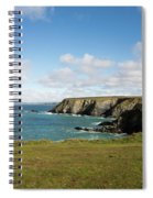 Godrevy To St Agnes, The North Cornwall Coastline Spiral Notebook