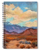 God's Creation Mt. San Gorgonio  Spiral Notebook