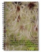 God's Faithful Servant Spiral Notebook