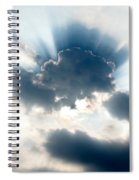Gods Rays Spiral Notebook