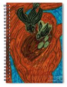 God's Supportive Hand Spiral Notebook