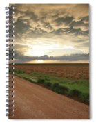 God's Way Of Calling It A Day Spiral Notebook