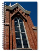Gods Window St. Mary's In The Mountains Catholic Church Spiral Notebook