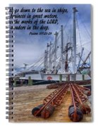 God's Wonders In The Deep Spiral Notebook