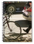Going Against Traffic Spiral Notebook