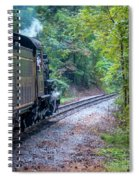 Going Around The Bend Spiral Notebook