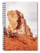 Going Down The Slope At Kodachrome Basin State Park. Spiral Notebook