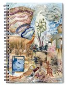 Going Down Spiral Notebook