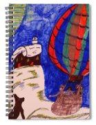Going For A Ride Spiral Notebook