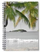 Going Green To Save Paradise Spiral Notebook