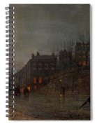 Going Home At Dusk Spiral Notebook