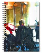 Going Home To Loved Ones Spiral Notebook