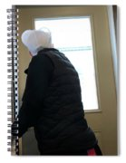 Going In To Work  Spiral Notebook