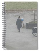 Going Out To Play Ball Spiral Notebook