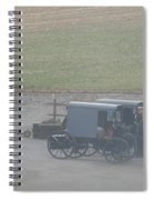 Going Out To The Barn Spiral Notebook