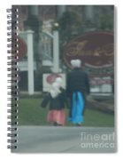 Going To Town Spiral Notebook