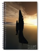 Going Vertical Spiral Notebook