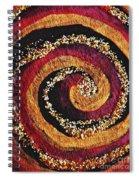 Gold And Glitter 56 Spiral Notebook