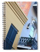 Gold And Gray In New Orleans Spiral Notebook