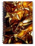 Gold Art Spiral Notebook