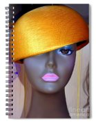 Gold Bowl Brenda Spiral Notebook