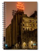 Gold Medal Flour Sign Spiral Notebook