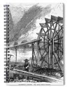 Gold Mining, 1860 Spiral Notebook