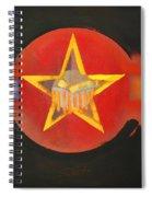 Gold On Heat Spiral Notebook
