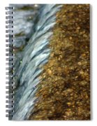 Gold Rush Abstract Spiral Notebook