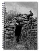 Gold Rush Cabin - Yukon Spiral Notebook