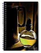 Gold Spirits Spiral Notebook