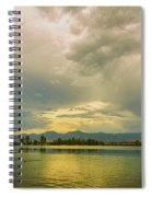 Golden Afternoon Spiral Notebook