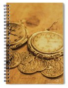 Golden Age Of Fashion Spiral Notebook