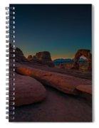 Golden Arch Spiral Notebook