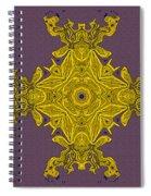 Golden Artifact Spiral Notebook