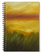 Golden Beach Spiral Notebook