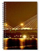 Golden Bridge Spiral Notebook