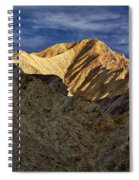 Golden Canyon View #2 - Death Valley Spiral Notebook