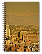 Golden City Hall La Spiral Notebook