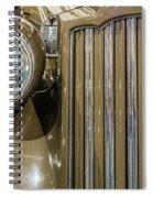 Golden Class Spiral Notebook