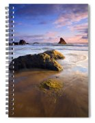 Golden Coast Spiral Notebook